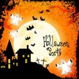 Halloween poster Royalty Free Stock Photos