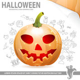 Halloween Poster Stock Image
