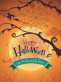 Halloween poster Royalty Free Stock Photography