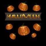 Halloween Poster. Stock Photo