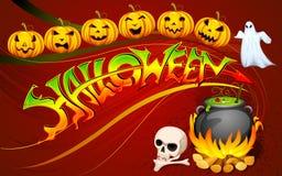 Halloween Poster Royalty Free Stock Photo
