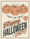 Halloween Poster. Vector illustration. Halloween Poster for using in different spheres Stock Images