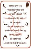 Halloween poster Stock Image