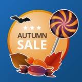 Halloween-Preisschild Lizenzfreie Stockbilder