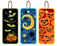 Halloween Price Tags Stock Photos