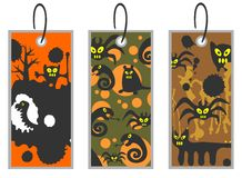 Halloween price tags Stock Photo