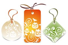 Halloween price tags Royalty Free Stock Photography