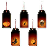 Halloween price tags Royalty Free Stock Photo