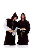 Halloween priests Stock Photos