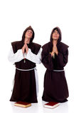 Halloween priests Stock Photo