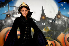 Halloween princess Royalty Free Stock Photo