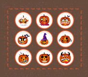 Halloween printables Royalty Free Stock Images