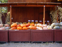 Halloween Produce Stand Royalty Free Stock Photos