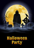 Halloween przyjęcia ilustracja royalty ilustracja