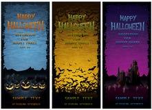 Halloween przyjęcia ivitations Zdjęcia Royalty Free