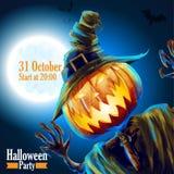 Halloween przyjęcia noc Październik Zdjęcie Stock