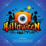 Halloween przyjęcia pojęcie Obraz Royalty Free