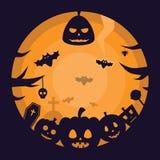 Halloween przyjęcia tło Obrazy Royalty Free