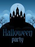 Halloween przyjęcia ulotka Zdjęcie Royalty Free