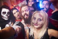 Halloween przyjęcie zdjęcie stock