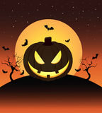 Halloween pumkin Royalty Free Stock Photo