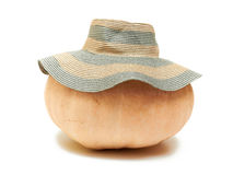 Halloween pumkin. Halloween pumpkin with hat on Stock Images
