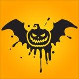 halloween pumpa Arkivfoton