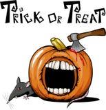Halloween pumpa Arkivbilder