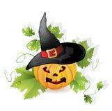 Halloween pumpa Arkivbild