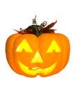Halloween pumpa. Arkivfoto