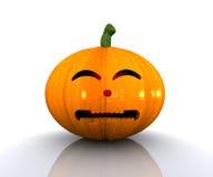 Halloween pumpa - 3D Royaltyfri Fotografi