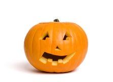 halloween pumpa royaltyfri bild
