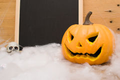halloween pumpaskallar Arkivfoto