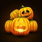 halloween pumpavektor Royaltyfri Foto