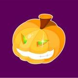 halloween pumpavektor royaltyfri illustrationer