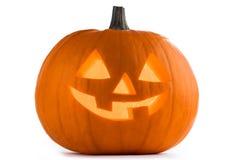halloween pumpawhite Arkivbilder