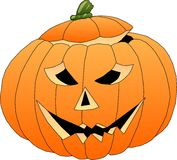Halloween Pumpkin. Pumpkin Royalty Free Stock Photo