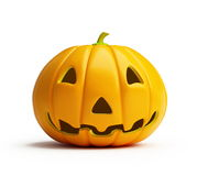 Halloween pumpkin. Is isolated on a white background Royalty Free Stock Photography