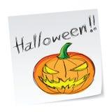 Halloween pumpkin Stock Image