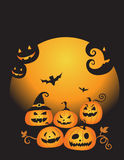 Halloween pumpkin. Vector illustration of halloween pumpkin Stock Illustration