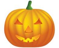 Halloween pumpkin. Isolated on white  illustration Royalty Free Stock Photos