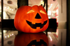 Halloween Pumpkin. In Shanghai,2011 Royalty Free Stock Photos