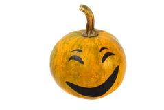 Halloween Pumpkin. Orange colour, smile and happy Stock Image
