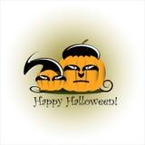 Halloween pumpkin. On white background Stock Photos