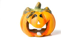 Halloween pumpkin. A shot of an halloween pumpkin Royalty Free Stock Photo