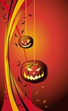 Halloween_pumpkin Stockbild