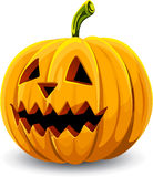 Halloween pumpkin. On white background Stock Photo