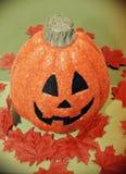 Halloween pumpkin. And autumn fall stock photography