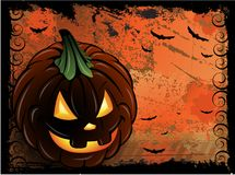 Halloween pumpkin background Royalty Free Stock Photo