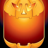 Halloween Pumpkin Background Stock Photo